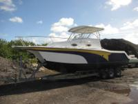2001 Prokat 2860 WABoat is a theft recoveryMissing