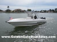 2001, 29' Wellcraft 29 Scarab Sport Center Console Twin