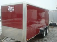 TANDEM 3500# AXLES, GOOD RUBBER GOOD SHAPE, COLOR RED,
