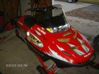 2001 RMK 800 SP 151eady to ride, new belt, all fox