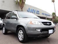 Options:  2001 Acura Mdx 5Dr 4X4 Sport
