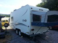 This is a single owner camper. Purchased new in 2001.
