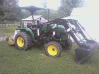 2001 Agracat 254 4x4. It has a 385 3 cylinder diesel