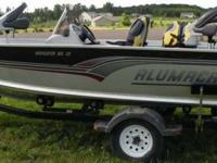 Description 2001 Alumacraft Navigator 165 CS 16.5 Ft