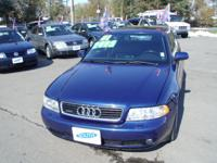 Options Included: N/AVERY SHARP BLUE A4 TURBO WITH