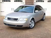 Selling our 2001 Audi A6 2.7 Turbo Quattro. We have