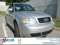New Price! 2001 Audi A6 2.8 quattro, Onyx w/Leather