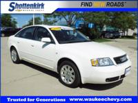 Options:  2001 Audi A6 2.8 Quattro|Awd 2.8 Quattro 4Dr