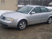 2001 Audi A6 Quattro AWD Turbo Loaded. All wheel drive.