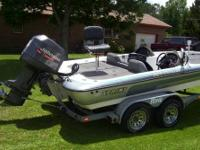 21 foot Tournament Edition 70+mph 2001 Sprint Bass Boat
