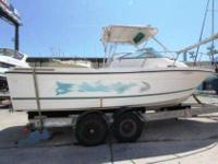 2001 Bayliner 2302 Trophy WA Overall average condition.