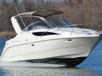 You are seeing a SUPER MINT 2001 Bayliner 2855 Ciera