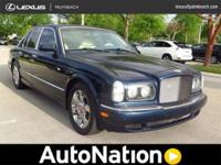 2001 Bentley Arnage. Our Place is: Lexus Hand Coastline