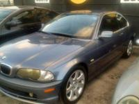 2001 BMW 325 CI COUPE! RARE 5 SPEED MANUAL. BLUE OVER