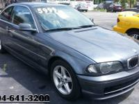 2001 BMW 325ci 2DR-Coupe 6cyl. Manual Transmission