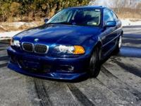 Very Clean 2001 BMW 325CI,2 doors,Front look M3,well