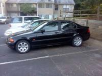 2001 BMW 325i Black on Black. Great condition. Runs