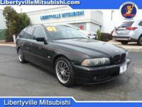 Options:  2001 Bmw 5 Series 525I|Black|Priced Below Kbb
