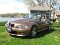 2001 BMW Z3 Raodster. 2.5L 6 cylinder with a 5 speed