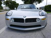 2001 BMW Z8, 6 SPEED MANUAL, PERFECT INSIDE AND
