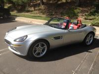ultra low mileage Henrik Fisker designed Z8 roadster,