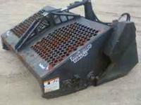 2001 bobcat model 6b landscape rake (rockhound),works