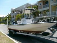 2001 Boston Whaler Dauntless 22 ft. 200 Mercury Optimax