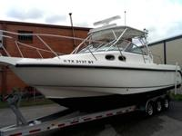2001 Boston Whaler Conquest 28/295 is for sale. It is