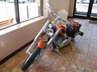 2001 Bourget Custom Python Motorcycle Our Location is: