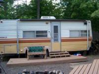 2001 Breckenridge Park Model Travel Trailer. Two lots