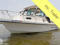 Extend your boating/fishing season with a full cabin