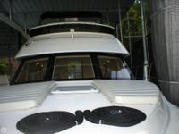 This 2000 Penn Yan 253 Invector with a Mercruiser 5.7 L
