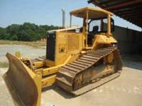 2001 Caterpillar D5NLGP Bulldozier, 6 way blade, orops,