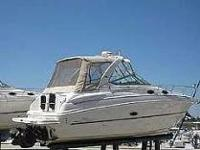 Chaparral Signature 300 with new staboard motor, new
