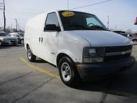 Options:  2001 Chevrolet Astro Cargo Van 3D
