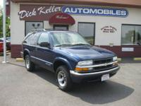 2001 Chevrolet Blazer 2Dr - Super Clean ! w/ Only 117K