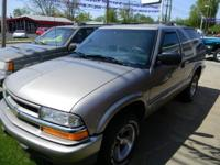 Options Included: N/AThis 2001 Chevrolet Blazer is