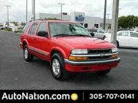 I got this 2001 Chevrolet Blazer for sale.. It has