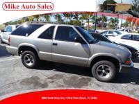 Options:  2001 Chevrolet Blazer Ls| |Driver & Front