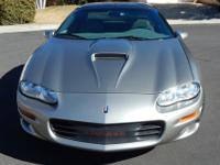2001 Camaro SS, light pewter exterior, neutral (beige)