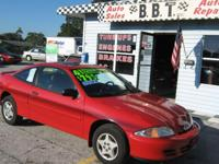 2001 CHEVROLET CAVALIER   2 DOOR LOW MILE