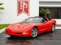 Low-mile 2001 Chevrolet Corvette finished in classic