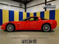 2001 Chevrolet Corvette. This beautiful torch red