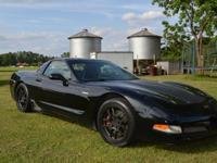 2001 Chevy Corvette Z06. V8 6 Speed. 144,000k. It has a