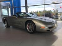 Silver 2001 Chevrolet Corvette RWD 4-Speed Automatic