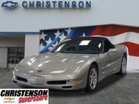 2001 Chevrolet Corvette Conv In Light Pewter Metallic,