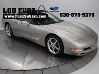 New Price! 2001 Chevrolet Corvette Light Pewter