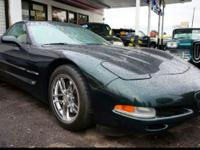 Up for sale we have a 2001 Chevy Corvette Hardtop. This