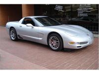 2001 Chevy Corvette Z06, 5.7L 8 cylinder engine with a