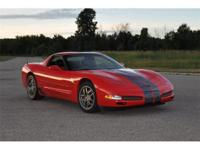This 2001 Chevy Corvette Z06 has Beautiful and Flashy